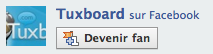 Devenir Fan de Tuxboard sur Facebook