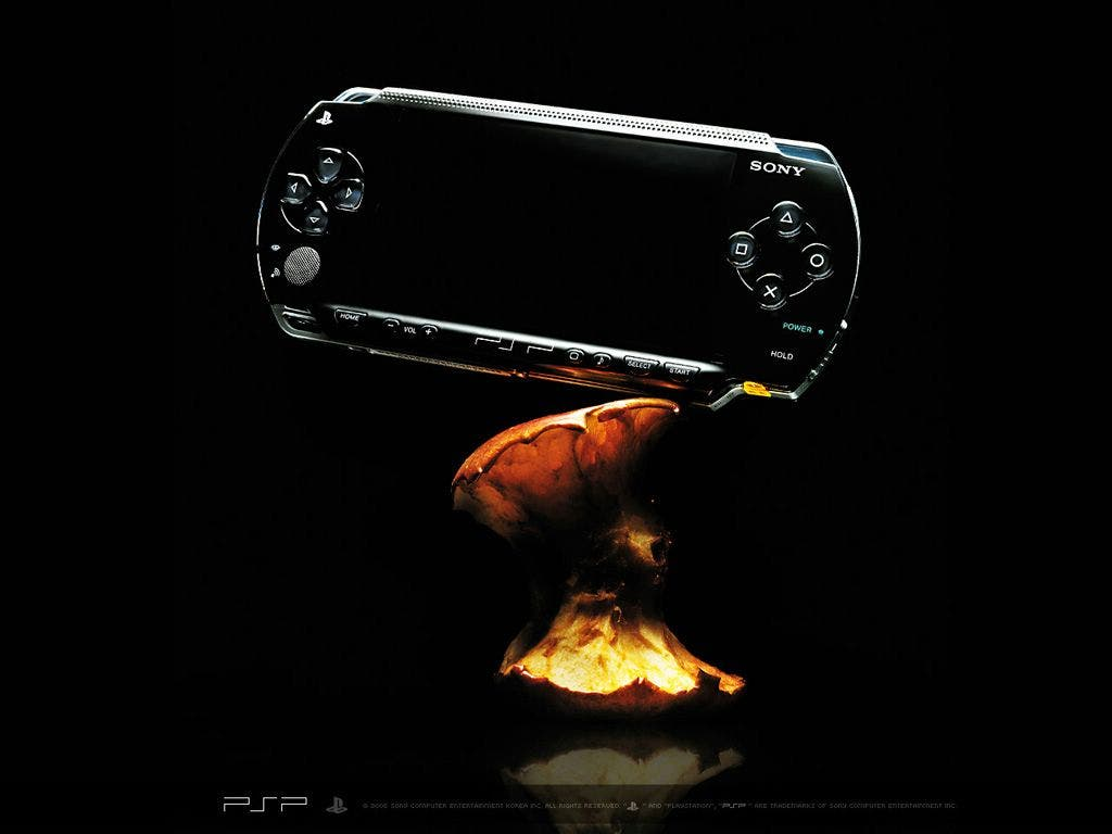 Wallpapers de la psp console portable de sony - Fond d ecran cheminee pour tv ...