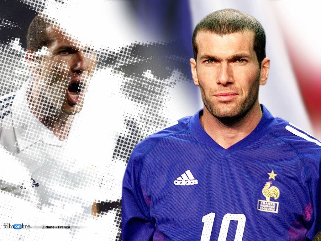 Zidane 001 Small Wallpapers De Zinedine Zidane  Real Madrid  Equipe De