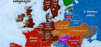 Voici comment on dit «bonne année» dans chaque pays d'Europe