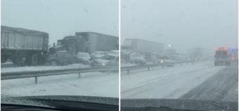 Carambolage de plus de 100 véhicules aux Etats-Unis à cause du blizzard