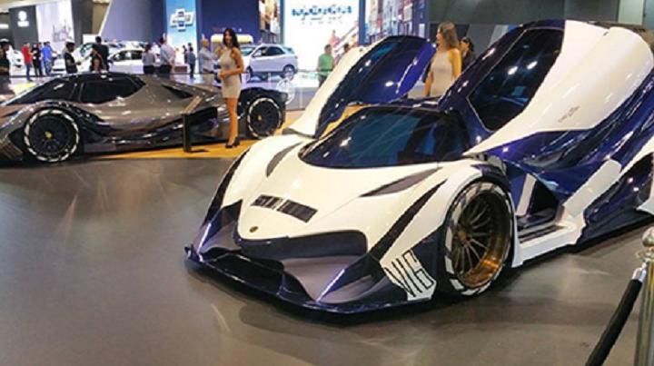 Devel Sixteen Prototype >> La Devel sixteen et ses 5 000 chevaux voient enfin le jour au salon de Dubaï - Tuxboard