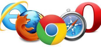 Cartographie des navigateurs internet les plus utilisés à travers le monde
