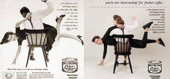 Un photographe fait tourner la tête de milliers de sexistes en inversant les rôles des genres dans des publicités vintage !