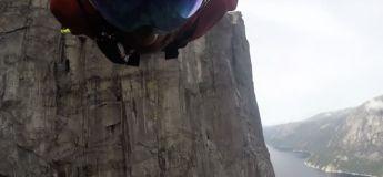 Record du monde de chute libre en saut à l'élastique : 424 mètres (de folie)