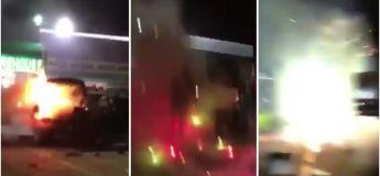 Etats-Unis : + de 600 feux d'artifice s'enflamment dans le coffre de sa voiture