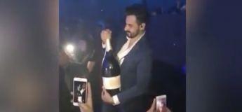 Il fait tomber un jeroboam de champagne de 35.000 euros en boite