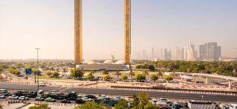Un cadre photo géant, le dernier monument surréaliste de Dubaï