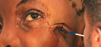 Les peintures incroyablement réalistes d'un jeune artiste nigérian deviennent virales