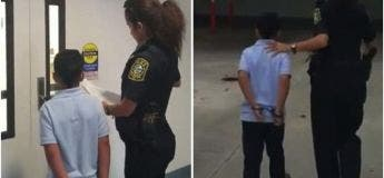 Etats-Unis : une policière emmène au poste un enfant de 7 ans menotté (VIDEO)