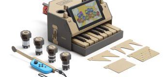 Le Nintendo Labo, la Switch qui combine jeu vidéo et … carton