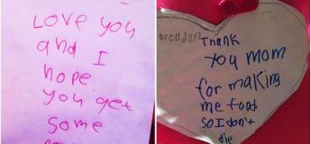 Des cartes de vœux sincères par des enfants : elles sont à la fois hilarantes et choquantes
