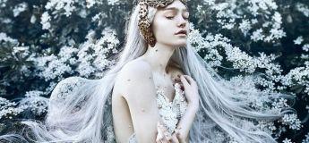 Magnifiques photos de femmes, digne d'un conte de fées par une talentueuse photographe