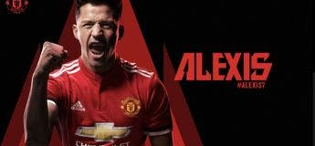 Maillot THIRD Manchester United Alexis Sánchez