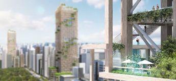 Tokyo prévoit de construire le gratte-ciel en bois le plus haut du monde d'ici 2041