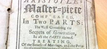 Un manuel du sexe vieux de 300 ans aux conseils vraiment bizarres