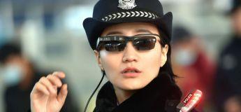 La police chinoise dotée de lunettes équipées de reconnaissance faciale