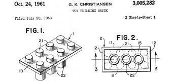 Dans le monde des jouets, les brevets de LEGO ont été révolutionnaires