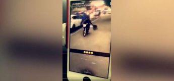 Il scandalise les internautes en traînant un chien sur plusieurs mètres avec sa moto