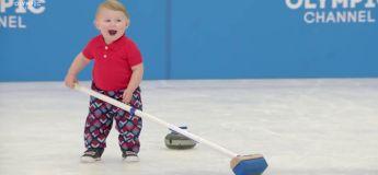 Des enfants remplacent les athlètes des JO 2018 dans une vidéo hilarante