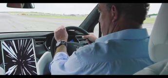 Jeremy Clarkson teste la Tesla Model X (Grand Tour)