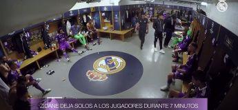 Le discours de Zinedine Zidane à la mi-temps de la finale de la Ligue des Champions contre la Juventus