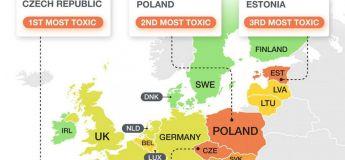 Les pays d'Europe avec les conducteurs les plus polluants