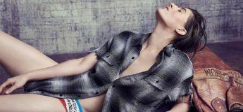 Un modèle androgyne fait la couverture d'un magazine de mode