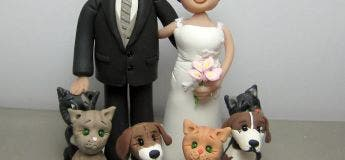 Un couple décide d'intégrer leurs chiens dans leur mariage et le résultat est splendide