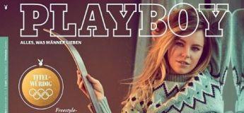 JO 2018 : Une skieuse spécialiste du slopestyle se montre nue en couverture de Playboy