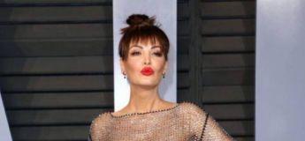 Bleona Qereti, cette chanteuse qui fait la une des journaux pour sa robe sexy