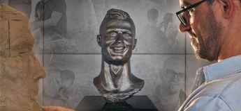 Le sculpteur du buste de Cristiano Ronaldo a récidivé…