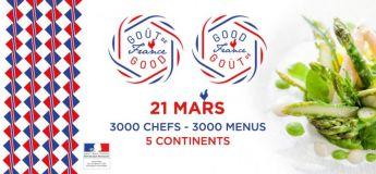 Le plus grand dîner français au monde ce 21 mars pour le Goût de/Good France