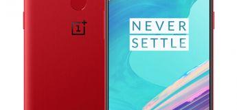 Le OnePlus 5T 128 Go Rouge à 514.05 €