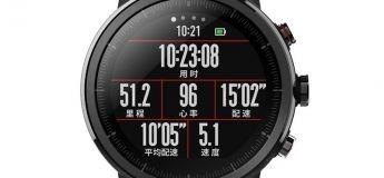 Précommande de la montre connectée Xiaomi Huami Amazfit Smartwatch 2