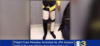 Air Cocaine : un membre d'équipage filmé avec 4kg de poudre sur lui !