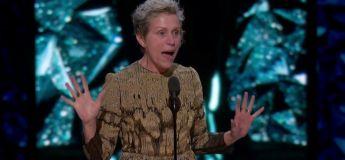 Discours en français de Frances McDormand, Oscars de la meilleure actrice pour 3 Billboards