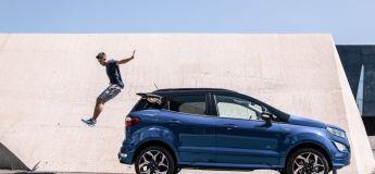 Test du Ford Ecosport dans les Alpes à l'occasion du Salon de Genève 2018