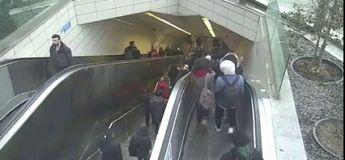 L'escalator qui avale des personnes en Turquie