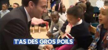 Le plus grand danger d'Emmanuel Macron : les enfants de maternelle