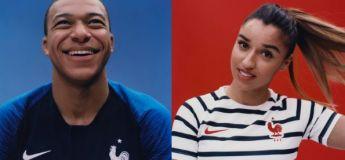Nike présente les maillots de l'équipe de France pour la Coupe du Monde 2018