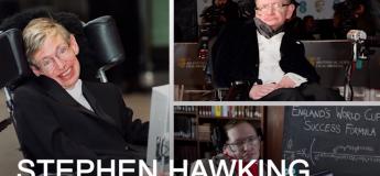 Le parfait message de Stephen Hawking aux personnes souffrant de dépression