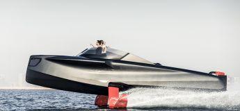 Un étonnant yacht volant et futuriste conçu aux Emirats Arabes Unis