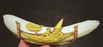 Bananart : Cet homme transforme des bananes en œuvres d'art amusantes