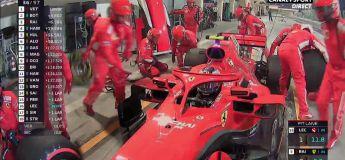Choc : Kimi Raikkonen brise la jambe du mécano en sortant du pit stop