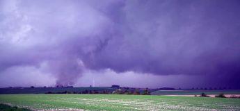 La tornade qui a traversé et ravagé la Marne ce 29 avril 2018