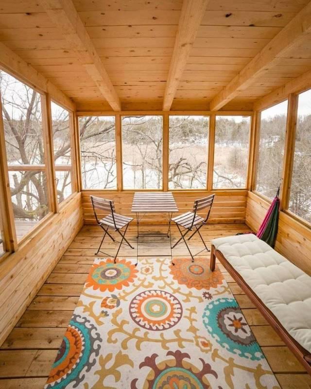 Maison en bois 3 tuxboard for Avoir une maison propre