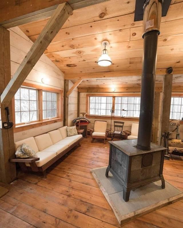 Maison en bois 7 tuxboard for Avoir une maison propre