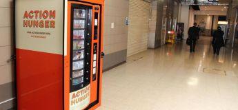 Le premier distributeur automatique pour SDF, supprimé après juste trois mois d'existence