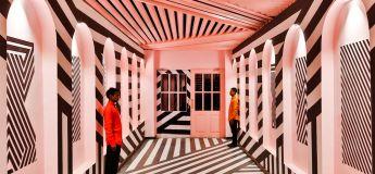 Un restaurant moderne indien étonnant, inspiré du cinéaste Wes Anderson
